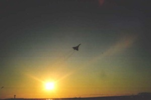 Last Flight of the Concorde, Oct. 24, 2003 (c) Vivian R. Carter 2003