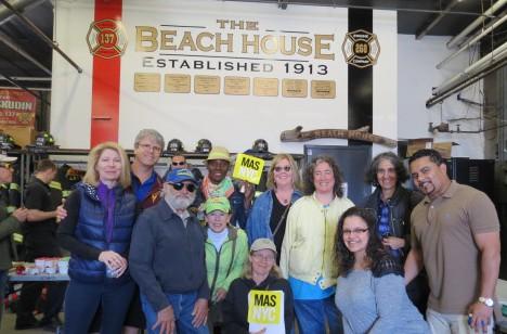 Rockaway Park Tour Group, May 2015. Photo courtesy Dan Guarino.