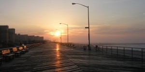 Rockaway boardwalk, copyright 2011 Vivian R. Carter