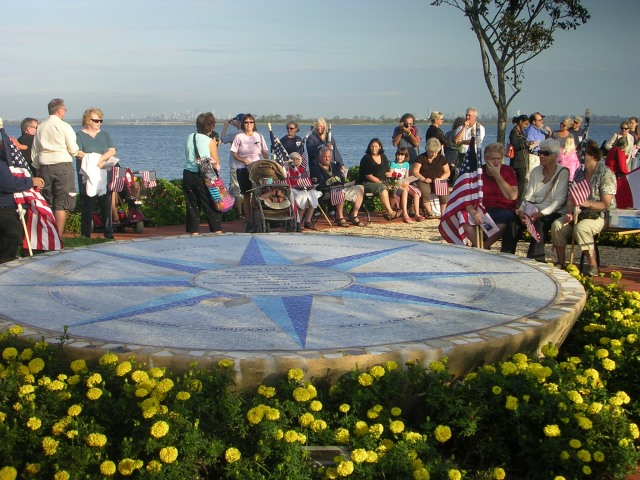 Tenth Anniversary at Tribute Park, September 2011