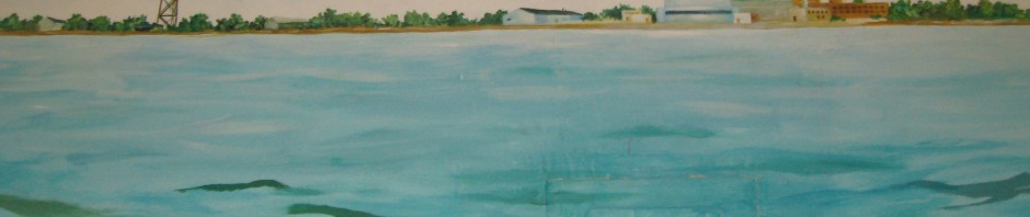 Mural detail--Floyd Bennett Field.