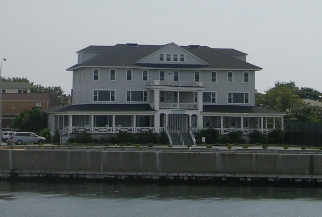 Belle Harbor Yacht Club is Landlocked by the Roadway that Moses Built